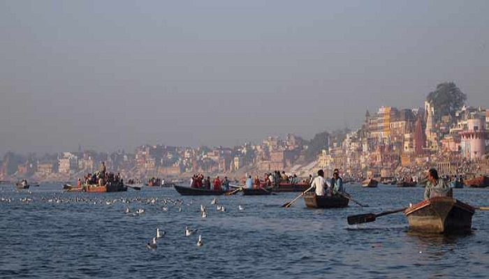 varanasi on river ganga